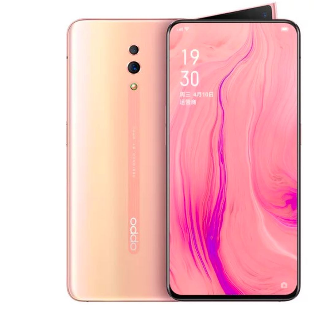 Oppo Reno 10x Zoom Pink Dirilis 18 Juni