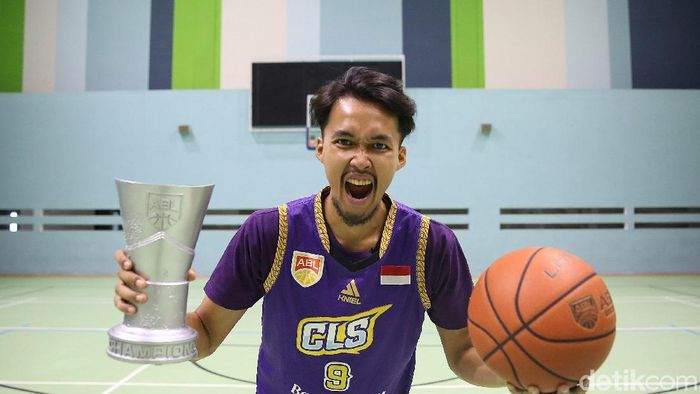 Sandy Febiansyakh, kapten CLS Knights Indonesia (Agung Pambudhy/detikSport)