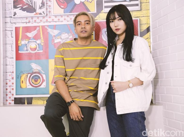 Gamaliel dan Isyana Sarasvati Foto: Asep Syaifullah/detikHOT
