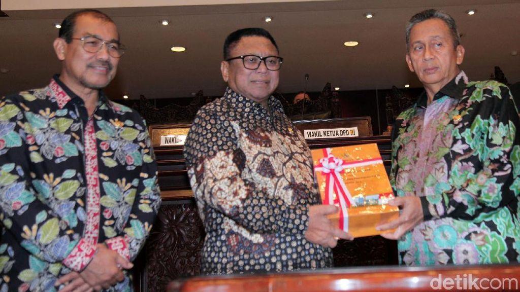 DPD Gelar Paripurna Laporan BPK 2019