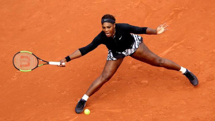 Serena Williams lolos ke babak kedua Prancis Terbuka 2019. (Foto: Adam Pretty / Getty Images)