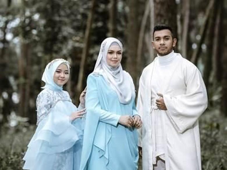 Foto: Nissa Sabyan, Siti Nurhaliza dan Taufik Batisah