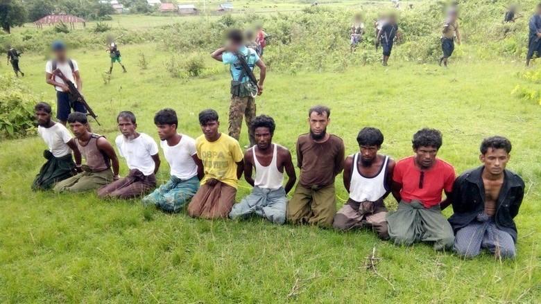 Tentara Myanmar Pembantai Rohingya Dibebaskan Awal dari Penjara