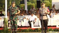 Kompak! Kapolri dan Panglima TNI Pimpin Apel Operasi Ketupat 2019