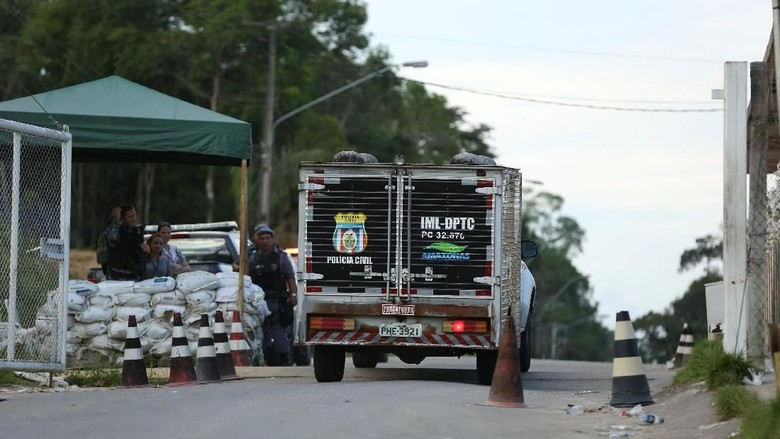57 Napi Tewas dalam Perkelahian di Penjara Brasil, Kebanyakan Dicekik