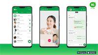 Hi App, 'Kloningan' WhatsApp Buatan Lokal