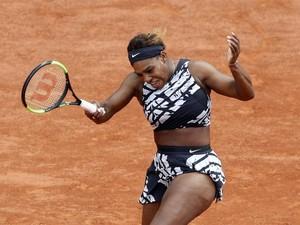 Baju Wakanda Dilarang, Ini Kostum Baru Serena Williams di Prancis Terbuka 2019