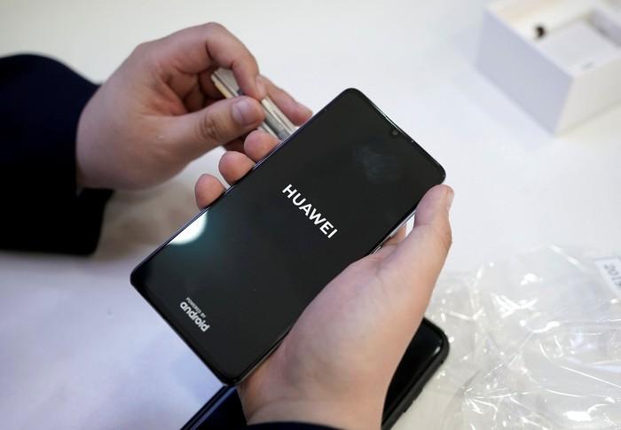 Smartphone Huawei. Foto: Reuters