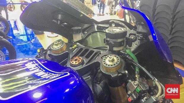 Motor menyuguhkan livery Yamaha MotoGP untuk musim 2019.