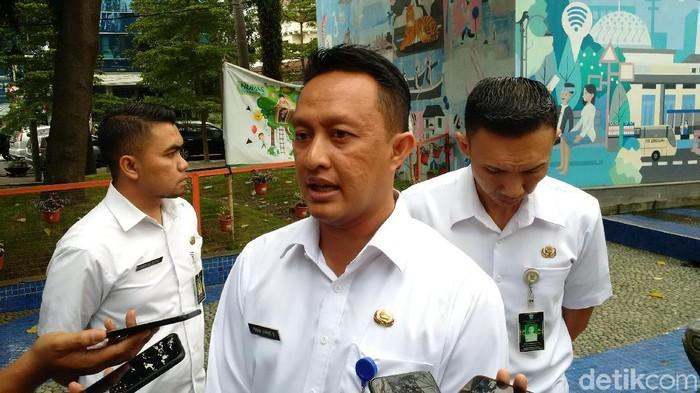 Kepala Badan Kepegawaian Pendidikan dan Pelatihan Kota Bandung Yayan A Brillyana