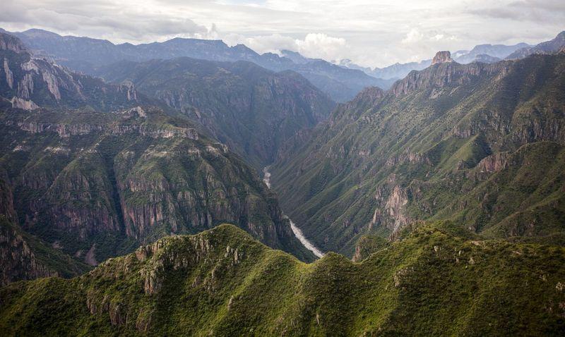 Suku Tarahumara menempati kawasan utara Meksiko, tepatnya di Sierra Tarahumara atau lebih dikenal dengan nama Copper Canyon. Suatu rangkaian pegunungan yang membentang panjang dan masuk dalam kawasan Chihuahua (iStock)