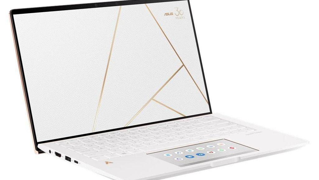 Laptop Anyar Berlapis Emas Jadi Penanda Ultah Asus ke-30