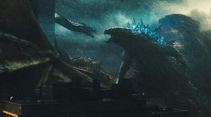 Film Godzilla: King of the Monsters.