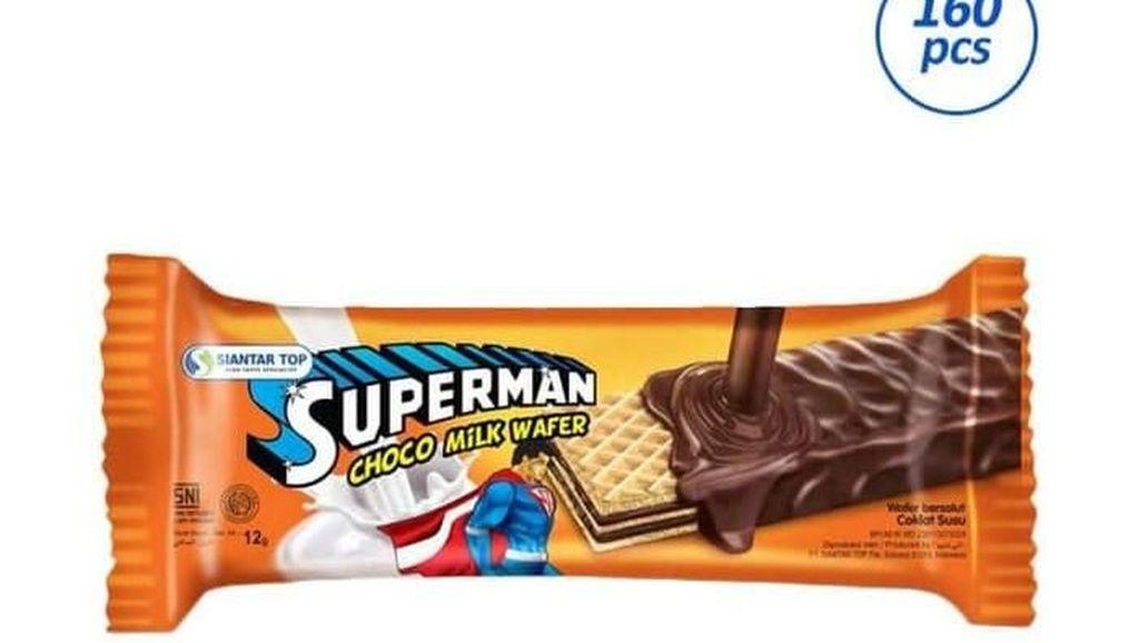 Menang Lawan DC Comics, Ini Wafer Superman dari Surabaya yang Melegenda
