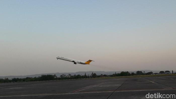 Bandara Adisutjipto Yogyakarta, (28/5/2019). (Foto: Ristu Hanafi/detikcom)