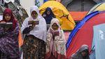 Potret Warga Berkemah untuk Iktikaf di Minggu Terakhir Ramadhan