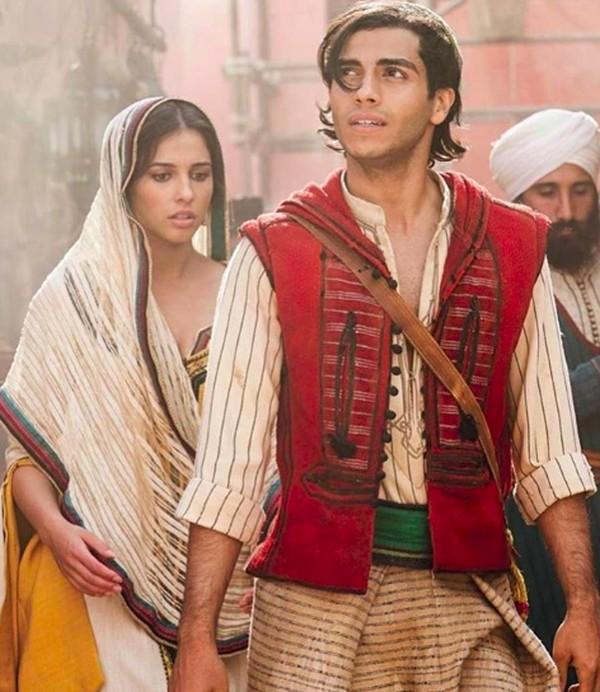 Penampilan Mena Massoud dalam film Aladdin menarik perhatian penikmat Disney. (menamassoud/Instagram)