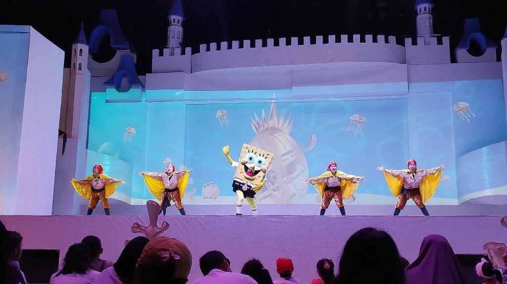 Langsung dari Amerika, Aksi Spongebob Squarepants Hadir di Dufan
