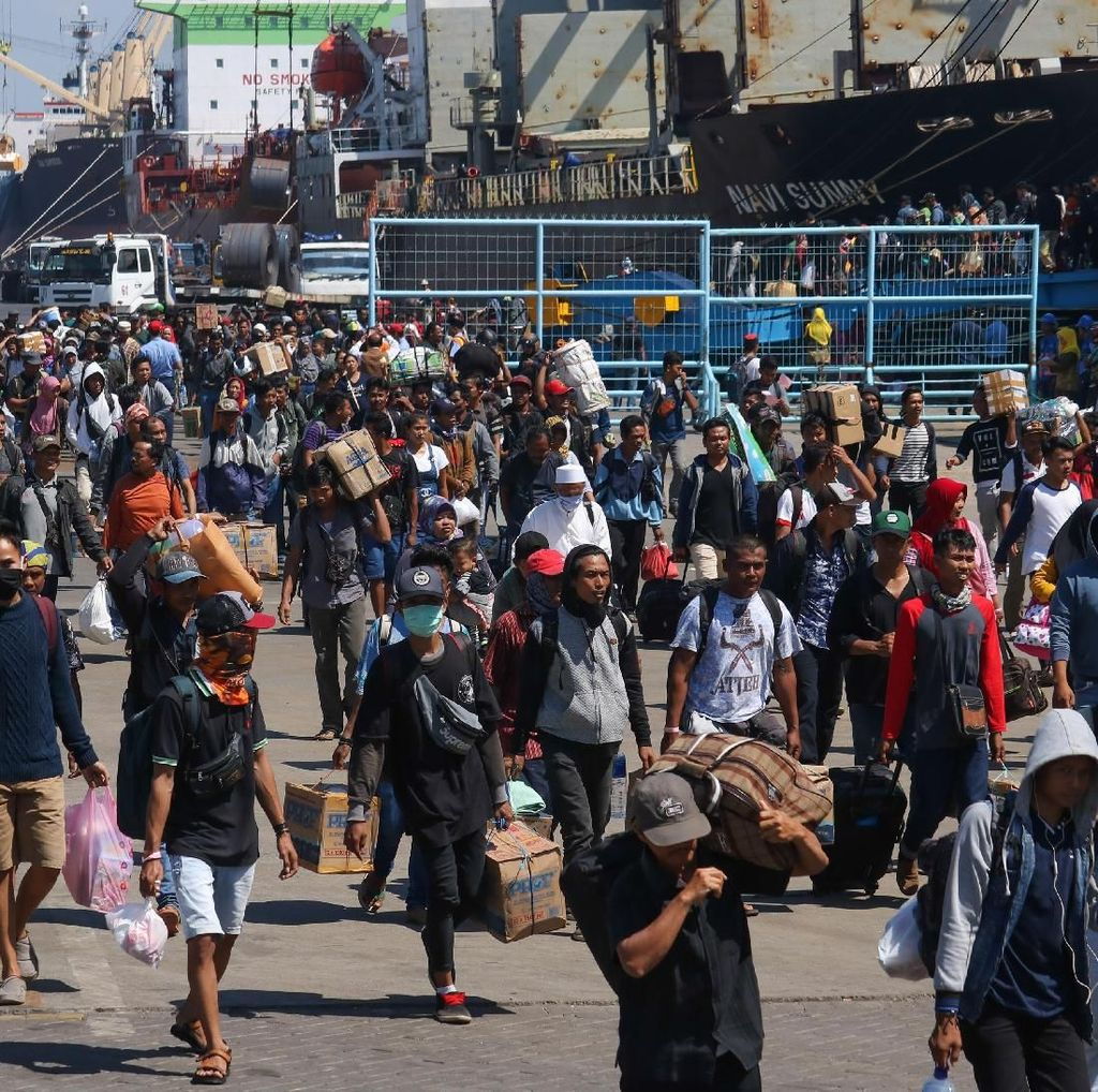 Pemudik yang Naik Kapal Laut Selama Lebaran 2019 Naik 9,91%