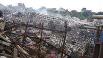 Ganggu Kesehatan Warga, Pembuangan Sampah Ilegal di Ciledug Disegel