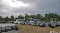 Tak Boleh Dipakai Mudik, Mobil Dinas Pemprov Riau Dikandangkan