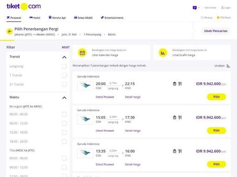 Pemudik Pusing Harga Tiket Pesawat Bandung Medan Tembus Rp