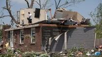 Kerusakan Akibat Tornado di Ohio