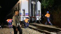 Jalur KA Selatan Sudah Bisa Dilalui, Namun Kecepatan Diperlambat