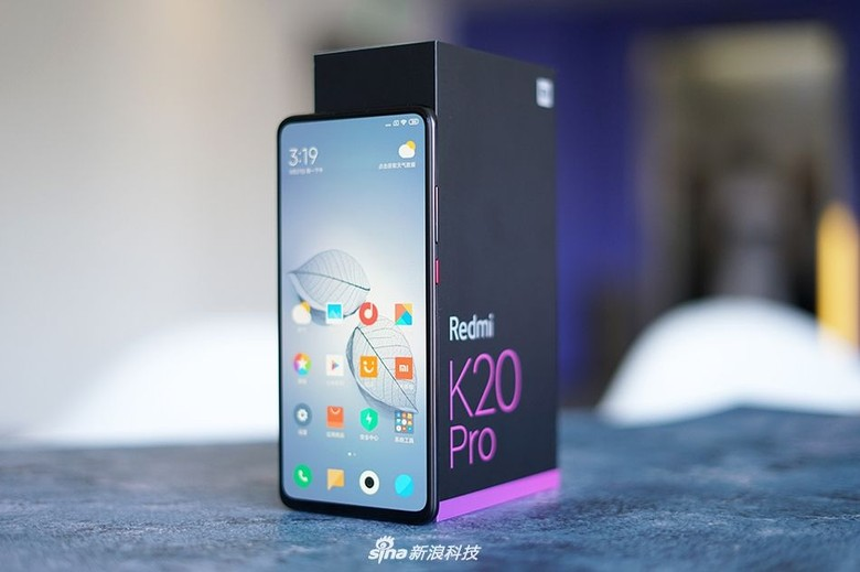 10. Redmi K20 Pro dengan nilai 432.159. Foto: Sina Mobile