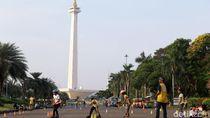 Monas Masih jadi Primadona Warga yang Libur Lebaran di Jakarta