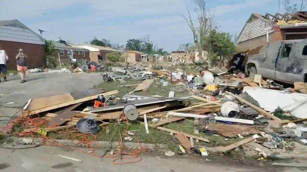 Tornado Terjang Ohio AS, Seorang Warga Tewas dan Puluhan Terluka
