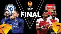 Berjibaku di Baku Demi Trofi Liga Europa