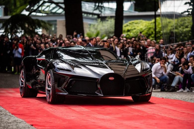 Bugatti La Voiture Noire. Foto: Pool (carscoops)