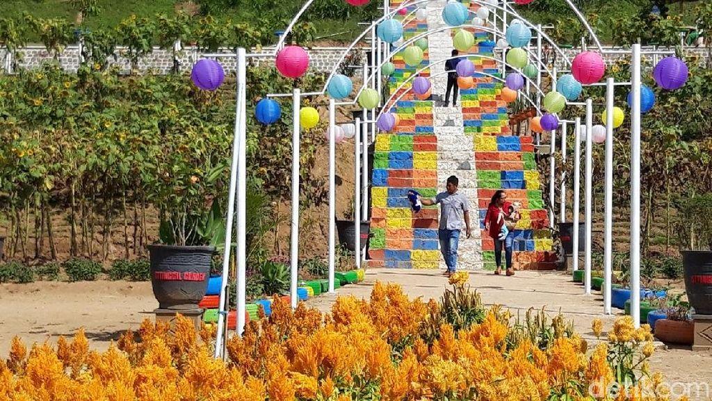 Mudik Ke Boyolali, Coba Main ke Taman Cantik Ini