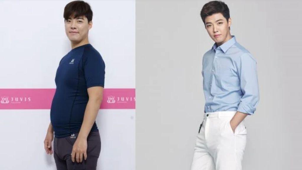 Transformasi Kangnam, Penyanyi K-pop yang Turun Bobot 9 Kg dalam 2 Minggu