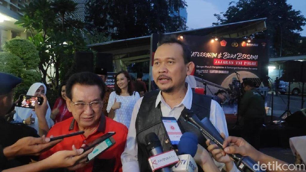 Turut Berempati, Cak Lontong Stand Up Hibur TNI/Polri di Bawaslu