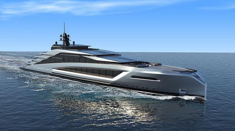Inilah California Yacht, kapal yacht terbaru hasil karya desainer Kurt Strand dari Norwegia. Desainnya begitu mewah dengan aneka fasilitas papan atas (dok. Kurt Strand Design)