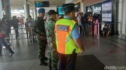 Mudik Lebaran, 3 Peleton TNI AU Jaga Ketat Bandara Palembang