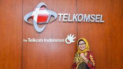 Bos Telkomsel Merapat ke Kantor Erick Thohir