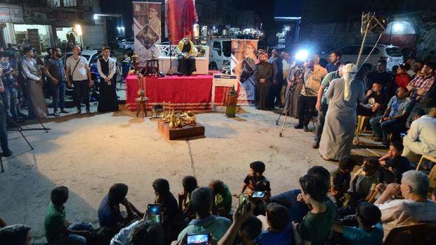 Ramadan dan Tradisi Dongeng yang Hidup Lagi di Irak