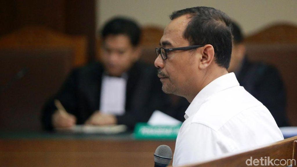 Haris Hasanudin Terdakwa Penyuap Rommy Dituntut 3 Tahun Penjara
