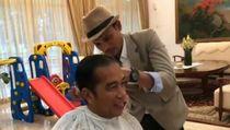 Jokowi Mau Potong Rambut Undercut: Sampingnya Tipis Atasnya Klimis
