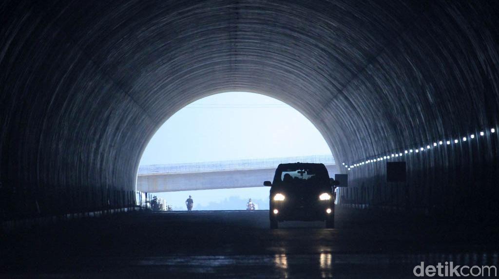 Terowongan Cisumdawu Masih Sepi Pemudik