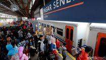Penumpang Kereta Arus Balik Diimbau Tak Bawa Barang Berlebihan