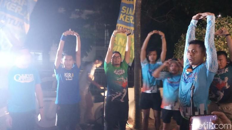 Iktikaf Run Disorot, Sandiaga: Itu Berlari Menuju Tempat Iktikaf
