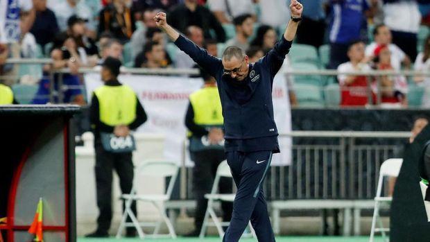 Maurizio Sarri tak akan banyak mengubah strategi andalannya selama menangani Juventus. (