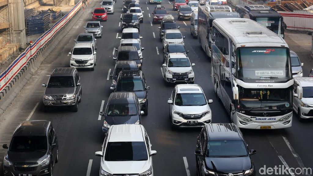 Rekor Arus Balik Lebaran, 116.000 Kendaraan Lewat Tol per Hari
