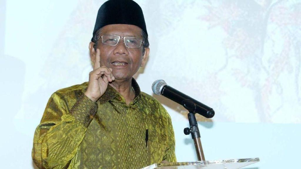 Inikah Pelabuhan Politik Mahfud MD di Kabinet Jokowi