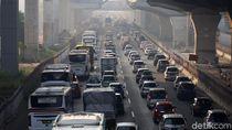 Imbas Proyek Tol Layang, Cikarang Timur-Cikarang Barat Macet 10 Km