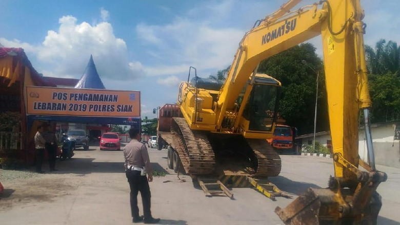 Hati-hati, Ini Titik Rawan Kecelakaan di Siak Riau